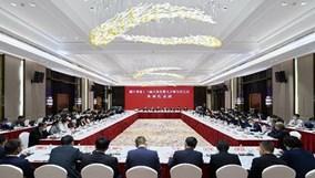 傅显明在列席省十三届人大五次会议金华代表团会议时表示:在争创社会主义现代化先行省新征程中走在前列