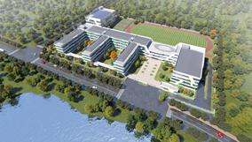 9月正式开学!金华市区这所湖畔学校建设工程进展来啦!
