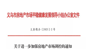 """刚刚!义乌房地产市场调控升级,推行""""公证摇号""""、三年限售"""