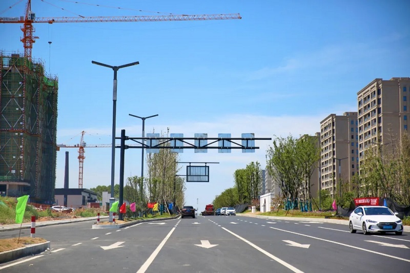 目前,婺城段主体已经完工并通过验收!45省道项目最新进展