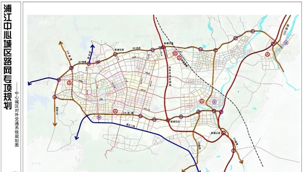 总投资44亿,浦江浦南至义乌上溪快速路已进入可行性研究